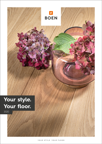 Your style. Your floor. Neue Parkettböden 2020