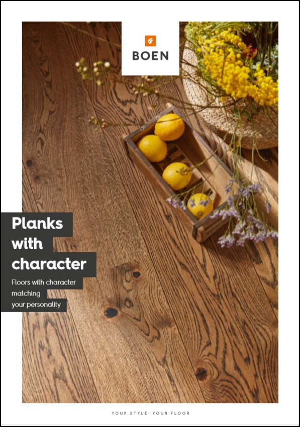 Planks with character by BOEN