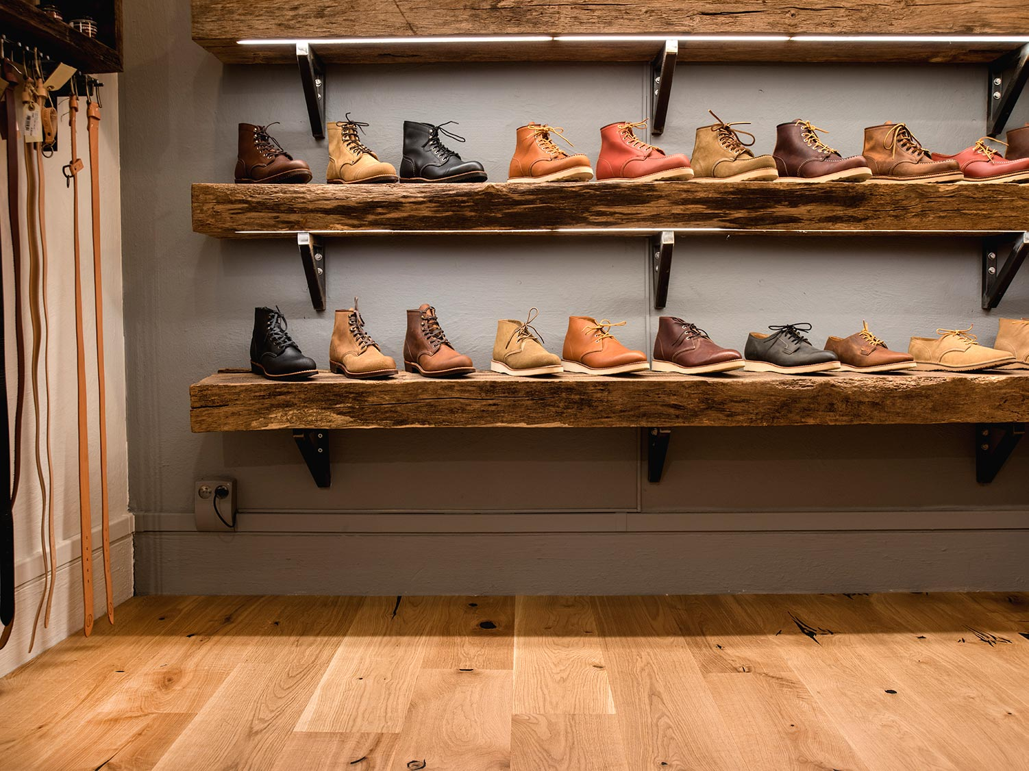 BOEN wood flooring Handcrafted at King and Queens Shop